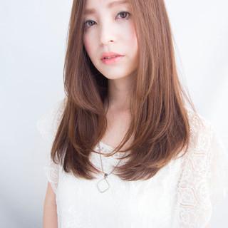 大人かわいい 透明感 外国人風 ブラウン ヘアスタイルや髪型の写真・画像 ヘアスタイルや髪型の写真・画像