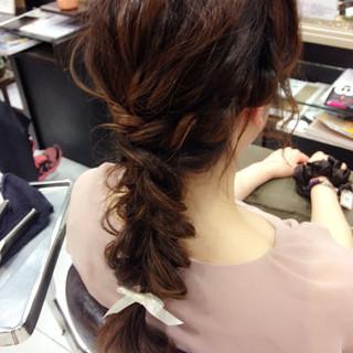 簡単ヘアアレンジ ゆるふわ ヘアアレンジ 外国人風 ヘアスタイルや髪型の写真・画像