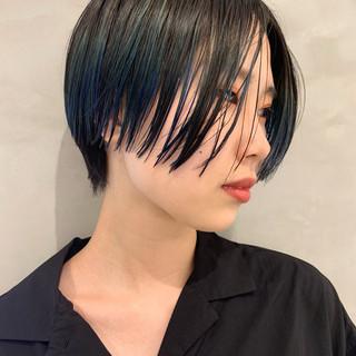 ショート モード 似合わせカット 阿藤俊也 ヘアスタイルや髪型の写真・画像