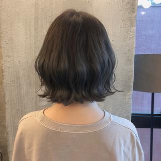 外国人風カラー 暗髪 ウェーブ 女子力 ヘアスタイルや髪型の写真・画像