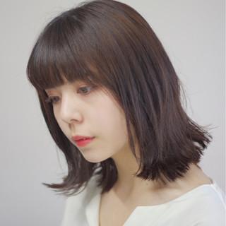 ナチュラル ボブ ミディアム 女子力 ヘアスタイルや髪型の写真・画像 ヘアスタイルや髪型の写真・画像