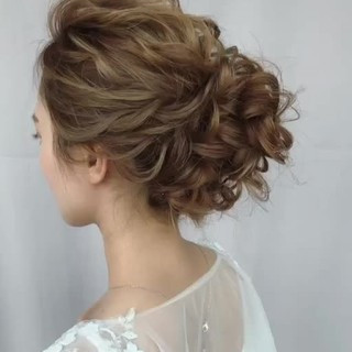 ガーリー 大人かわいい 大人女子 セミロング ヘアスタイルや髪型の写真・画像