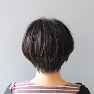 ショートボブ ショート 小顔ショート ショートヘア ヘアスタイルや髪型の写真・画像