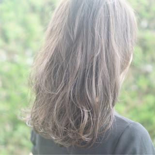 アッシュグレージュ 外国人風カラー 透明感 アッシュベージュ ヘアスタイルや髪型の写真・画像