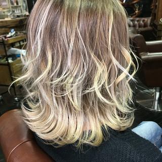 金髪 ハイトーン モード メンズ ヘアスタイルや髪型の写真・画像