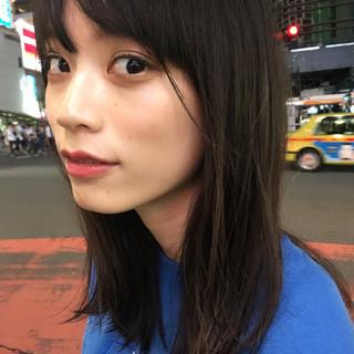 外国人風 秋 ニュアンス 小顔 ヘアスタイルや髪型の写真・画像