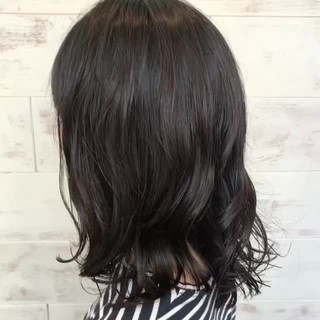 ミディアム ゆるふわ ナチュラル 透明感 ヘアスタイルや髪型の写真・画像