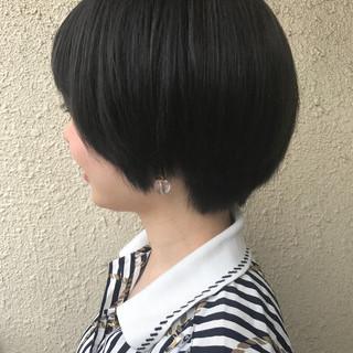 ショート 大人かわいい モード ショートボブ ヘアスタイルや髪型の写真・画像