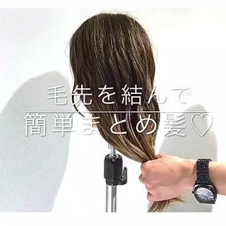 女子会 簡単ヘアアレンジ フェミニン ショート ヘアスタイルや髪型の写真・画像