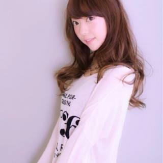 モテ髪 ウェーブ ロング コンサバ ヘアスタイルや髪型の写真・画像