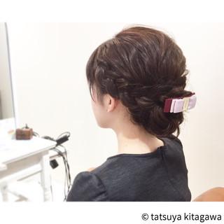 花嫁 ナチュラル デート アッシュ ヘアスタイルや髪型の写真・画像