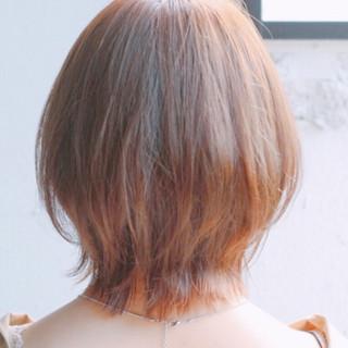 ゆるふわ 愛され ショート モテ髪 ヘアスタイルや髪型の写真・画像