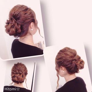 三つ編み モテ髪 ロング 編み込み ヘアスタイルや髪型の写真・画像