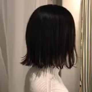 ボブ フェミニン スポーツ 外国人風カラー ヘアスタイルや髪型の写真・画像