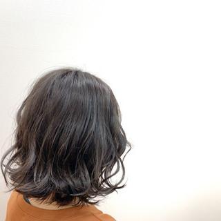アンニュイほつれヘア ヘアアレンジ ボブ ナチュラル ヘアスタイルや髪型の写真・画像