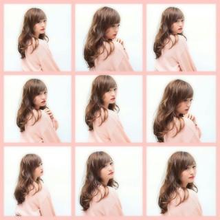 ゆるふわ 冬 フェミニン ガーリー ヘアスタイルや髪型の写真・画像 ヘアスタイルや髪型の写真・画像