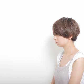 ウェットヘア 春 ショート グラデーションカラー ヘアスタイルや髪型の写真・画像 ヘアスタイルや髪型の写真・画像