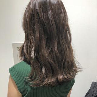 上品 ロング エフォートレス フェミニン ヘアスタイルや髪型の写真・画像