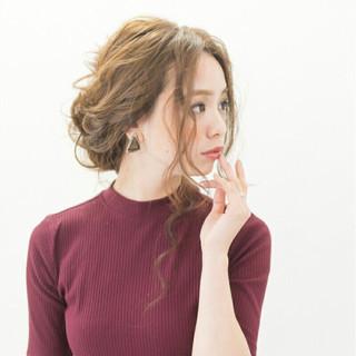 ロング 抜け感 大人女子 ヘアアレンジ ヘアスタイルや髪型の写真・画像