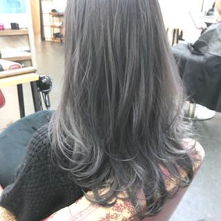 イルミナカラー 透明感 透明感カラー ナチュラル ヘアスタイルや髪型の写真・画像