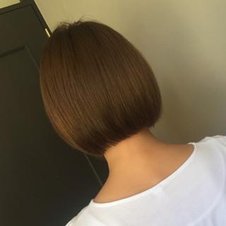 大人女子 モード ヘアアレンジ ボブ ヘアスタイルや髪型の写真・画像