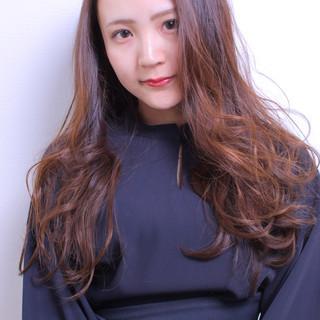 ガーリー デート モテ髪 ロング ヘアスタイルや髪型の写真・画像