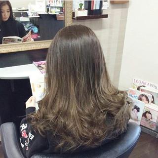 グラデーションカラー ガーリー セミロング ダブルカラー ヘアスタイルや髪型の写真・画像 ヘアスタイルや髪型の写真・画像