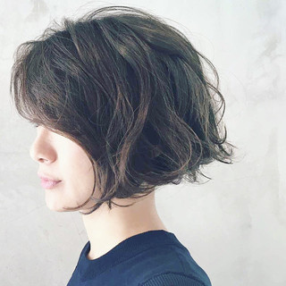 パーマ 外国人風 ゆるふわ 大人かわいい ヘアスタイルや髪型の写真・画像