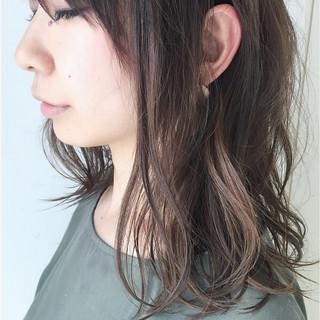 透明感 デート 愛され アンニュイ ヘアスタイルや髪型の写真・画像