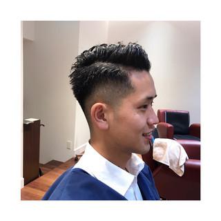 ナチュラル 刈り上げ メンズカット ショート ヘアスタイルや髪型の写真・画像 ヘアスタイルや髪型の写真・画像