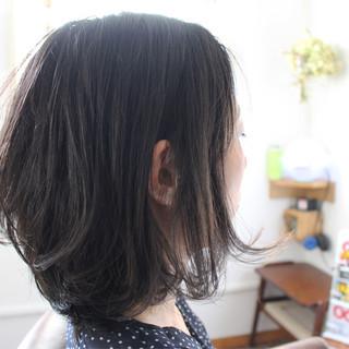 ヘアアレンジ 色気 パーマ 黒髪 ヘアスタイルや髪型の写真・画像