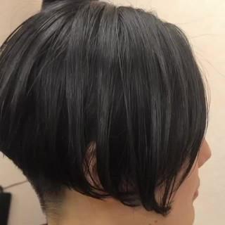 モード ショート ショートヘア ベリーショート ヘアスタイルや髪型の写真・画像
