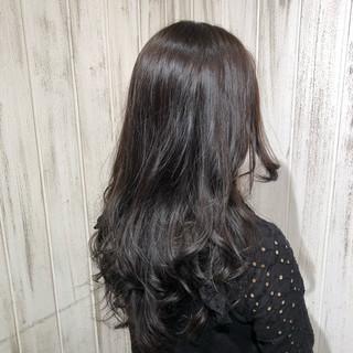 外国人風カラー アッシュ ナチュラル イルミナカラー ヘアスタイルや髪型の写真・画像
