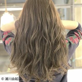 モテ髪 ゆるふわ ハイライト 大人かわいい ヘアスタイルや髪型の写真・画像