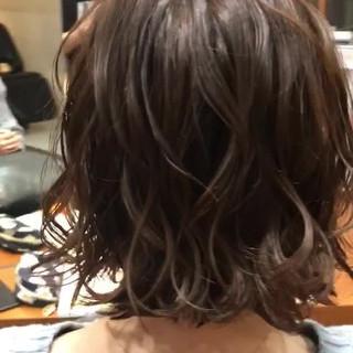 ボブ 外ハネ 外ハネボブ モテボブ ヘアスタイルや髪型の写真・画像
