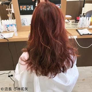 ロング パーマ ガーリー 外国人風 ヘアスタイルや髪型の写真・画像
