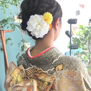 成人式 結婚式 デート ヘアアレンジ ヘアスタイルや髪型の写真・画像