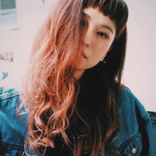 冬 透明感 秋 前髪あり ヘアスタイルや髪型の写真・画像