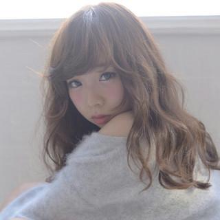 かわいい ゆるふわ 大人かわいい フェミニン ヘアスタイルや髪型の写真・画像