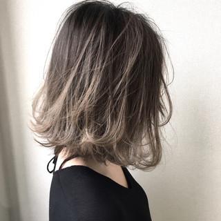 アンニュイ ナチュラル グラデーションカラー ハイライト ヘアスタイルや髪型の写真・画像