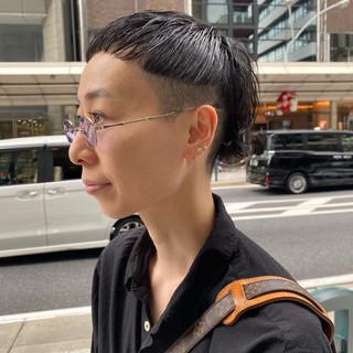 刈り上げ 大人ショート 刈り上げ女子 刈り上げショート ヘアスタイルや髪型の写真・画像