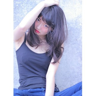 ヘアアレンジ アッシュ 就活 黒髪 ヘアスタイルや髪型の写真・画像