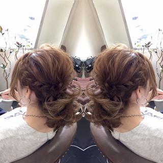 かわいい ゆるふわ フェミニン ヘアアレンジ ヘアスタイルや髪型の写真・画像