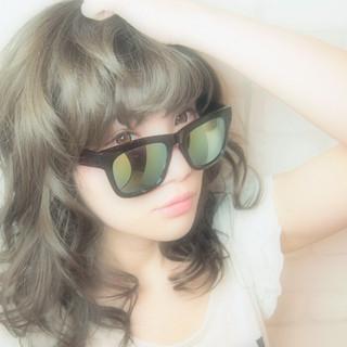 ゆるふわ 大人かわいい 外国人風 パーマ ヘアスタイルや髪型の写真・画像