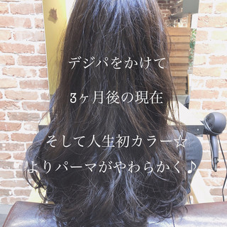 ロング ナチュラル ヘアスタイル ゆるふわ ヘアスタイルや髪型の写真・画像