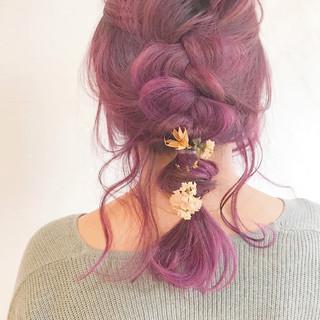 アンニュイほつれヘア 結婚式 簡単ヘアアレンジ ヘアアレンジ ヘアスタイルや髪型の写真・画像 ヘアスタイルや髪型の写真・画像