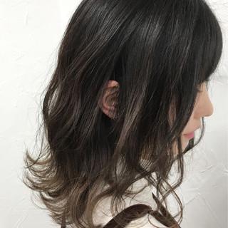 外国人風 ボブ グラデーションカラー ストリート ヘアスタイルや髪型の写真・画像