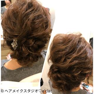 ガーリー ヘアアレンジ ルーズ 大人女子 ヘアスタイルや髪型の写真・画像
