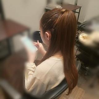 ヘアアレンジ 謝恩会 上品 ロング ヘアスタイルや髪型の写真・画像