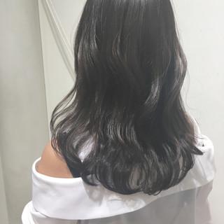 オルチャン 秋 エレガント ロング ヘアスタイルや髪型の写真・画像